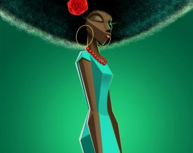 afro damsel2